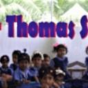 Pastor Thomas Fonds bij het Sproeifeest