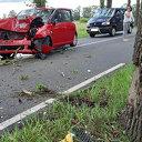 Eenzijdig ongeval op de Poppenallee