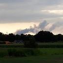 Rook nog in Nieuwleusen te zien