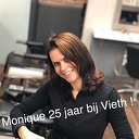Salon manager Monique al 25 jaar bij Vieth hairdressers