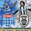 USV gastheer PEC Zwolle- PAOK Saloniki
