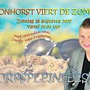 Jaarlijkse dorpspleinfeest Hoonhorst