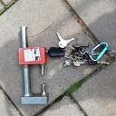 Gevonden sleutels en dubbelslot