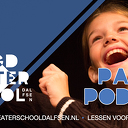 Pak je podium bij Jeugdtheaterschool Dalfsen