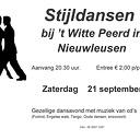 Dansen bij Het Witte Peerd