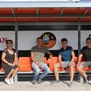 S.V. Nieuwleusen bedankt sponsoren dug-outs