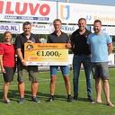 Stichting Hand in Hand ontvangt waardecheque t.w.v. € 1000,-