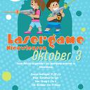 Lasergame voor de kinderen