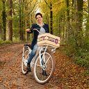 Heb je haar al zien fietsen?