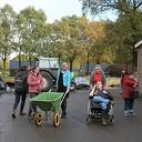 Het college bezoekt zorgboerderij Het Ruitenveen