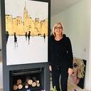 Expositie Ineke Flierhuis in Anjerpunt Hoonhorst