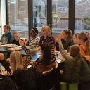 Volop vragen voor burgemeester Van Lente tijdens Nationaal Schoolontbijt