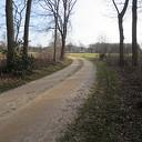 De schoonheid van een oude historische weg