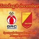 SV Dalfsen gaat op bezoek bij GRC Groningen