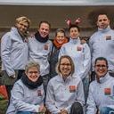 Team ALS op de boerenmarkt