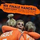 WK finale handbal op groot scherm in Trefkoele+