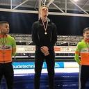 Joep Wennemars brons bij NK sprint junioren