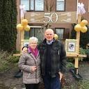 Piet en Dinie 50 jaar getrouwd