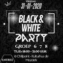 Kinderdisco Black & White Party
