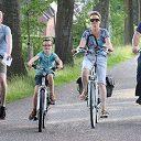 Einde fietsvierdaagse, na Oudleusen nu ook Lemelerveld