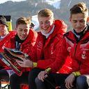 Mart Nijhoff en Team Stouwdam doen goed mee op de Weissensee