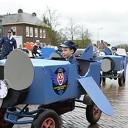Ik zag ze vliegen tijdens de carnavalsoptocht in Hoonhorst
