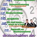 Programma carnaval Hoonhorst