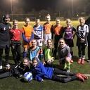 voetbalclinic Meiden S.V. Nieuwleusen