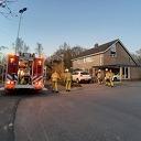 Schoorsteenbrand aan de Devotenhof