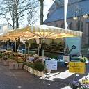 De weekmarkt in Dalfsen ging vandaag gewoon door
