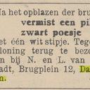 Nog wat krantenberichten van april 1945