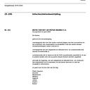 Schriftelijke (art 45) vragen van het CDA Dalfsen