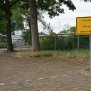 Fiets parkeren op sportpark Gerner