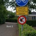 Nieuwe verbodsborden op sportpark Gerner