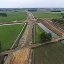 Drone foto's Project Vechtdalverbinding