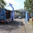 The voice of Zwolle trad vanmorgen op bij de Rosengaerde