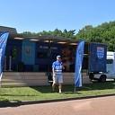 PEC Zwolle truck on tour vanmiddag bij Philadelphia in Dalfsen