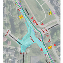 Werkzaamheden rotonde Kampmansweg