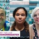 Hulp bij donorregistratie