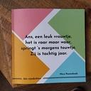 Nico Pannekoek heeft Rijmenboek gemaakt