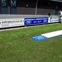 Groot onderhoud bij voetbalvelden Hoonhorst