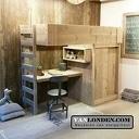 Geef de slaapkamer een unieke touch met een bed van steigerhout