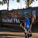 Kachel FM bus legt aan bij Mansier