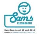SAM Kledinginzamelactie nu zaterdag