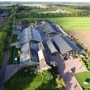 Zonnestroompark energiecoöperatie Vinkenbuurt Stroomt vanuit de lucht gezien