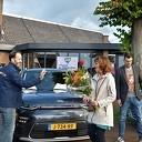 Nieuwe elektrische dorpsdeelauto voor Hoonhorst