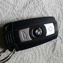 De BMW sleutel  gevonden