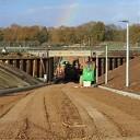 Weer volop werkzaamheden aan de tunnel in Dalmsholte