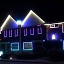 Kerstlichtjes in Oudleusen.