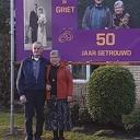 Jan & Griet Westerman 50 jaar getrouwd